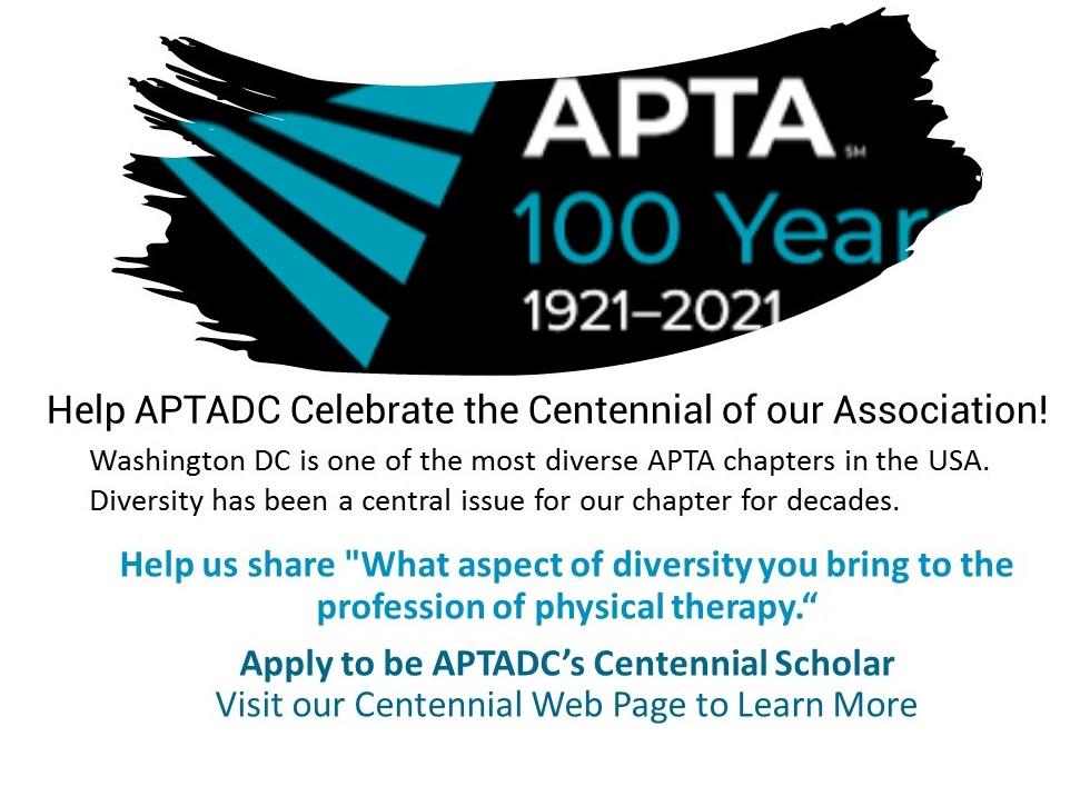 Help APTADC Celebrate the Centennial of our Association2